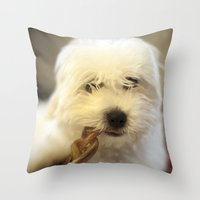Moriarty & The Bully Stick Throw Pillow