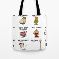 Mr.Fighter II Tote Bag