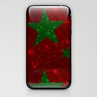 Christmas Red And Green … iPhone & iPod Skin