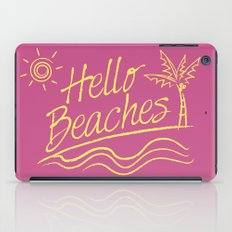 Hello Beaches iPad Case