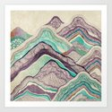 Hillside Art Print