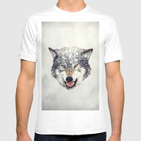 Lobo Mens Fitted Tee White SMALL