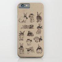 iPhone & iPod Case featuring Bandit Bunny Dozen by Najmah Salam