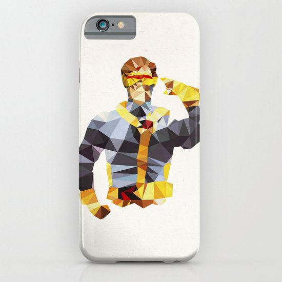 Polygon Heroes - Cyclops iPhone & iPod Case