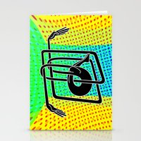 Noodle (yellow) Stationery Cards