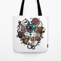Rabbit Nightmare! Tote Bag