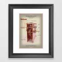 Oh Such Beautiful Times! Framed Art Print