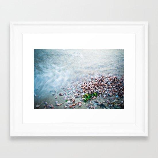 Washed Ashore  Framed Art Print