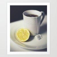 Afternoon Tea II Art Print