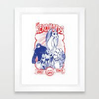 the herculoids Framed Art Print
