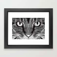 THE CAT Framed Art Print