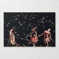 Dancing finale Canvas Print