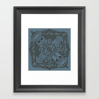 Dumuzi And Geshtinanna Framed Art Print