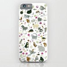 Animal Chart Slim Case iPhone 6s