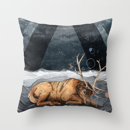 The Unsleeping Dream Throw Pillow