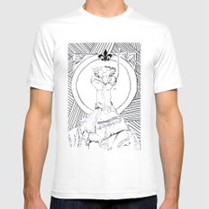 Archiduchesse Anne d'Autruche Mens Fitted Tee SMALL White