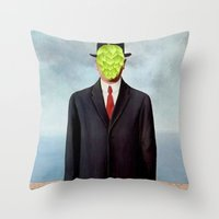 The Local HOption Throw Pillow