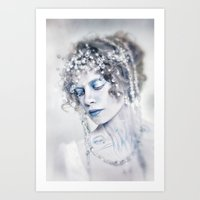 The Arctic Queen Art Print