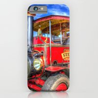 iPhone Cases featuring Foden Steam Lorry by David Pyatt