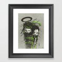 Big Sleep II. Framed Art Print