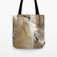 Smiling Kangaroo Tote Bag