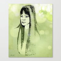 Eastern Princess Canvas Print