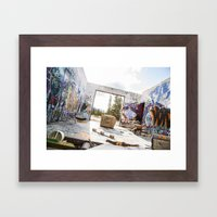 get gripped Framed Art Print