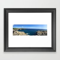 Indo Sea Framed Art Print