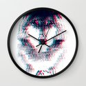Act like a wolf.  Wall Clock