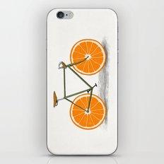 Zest (Orange Wheels) iPhone & iPod Skin