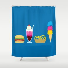 There's nothing finer... Shower Curtain