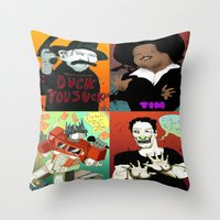 Pop Mix Of The Some Of T… Throw Pillow