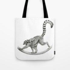 Maki catta with baby. G2012-050 Tote Bag