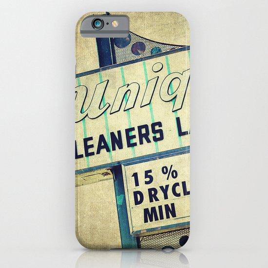 Unique Laundry Sign iPhone & iPod Case