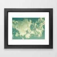 Clouds 024 Framed Art Print