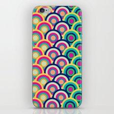 Circle colors iPhone & iPod Skin