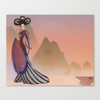 Empress Wu Zetian - China Canvas Print
