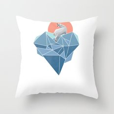 Live in North Pole Throw Pillow
