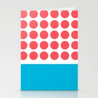Forty Red Dots Over The … Stationery Cards