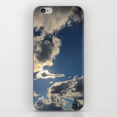 Clouds in my head iPhone & iPod Skin