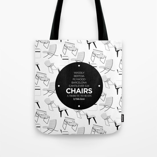 CHAIRS - A tribute to seats (special edition) Tote Bag