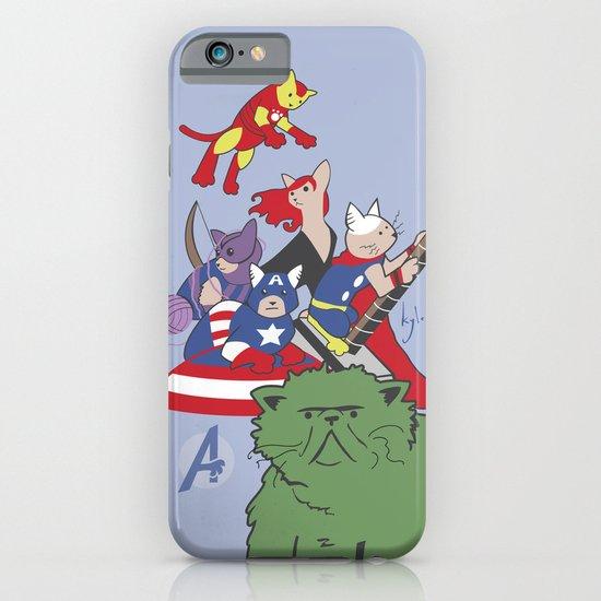 The Catvengers - Earth's Mightiest Kitties iPhone & iPod Case
