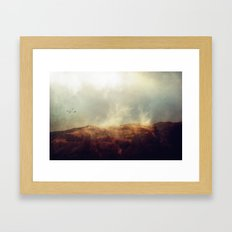There is magic in the wild places of earth. Framed Art Print