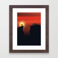 Escape v.2 Framed Art Print