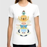 adventure T-shirts featuring Adventure Totem by Daniel Mackey