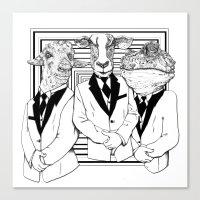 UZUNIMALS Canvas Print