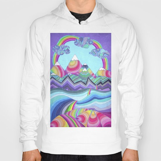 Somewhere Over The Rainbow Hoody