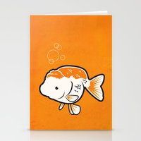 Ranchu Goldfish Stationery Cards