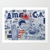 Thanks America / Where F… Art Print