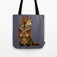 Golden Retriever dusk Tote Bag
